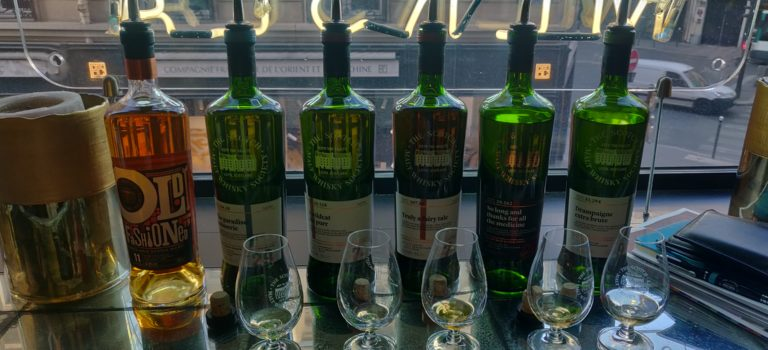 SMWS – August outturn tasting event at Mersea, Paris