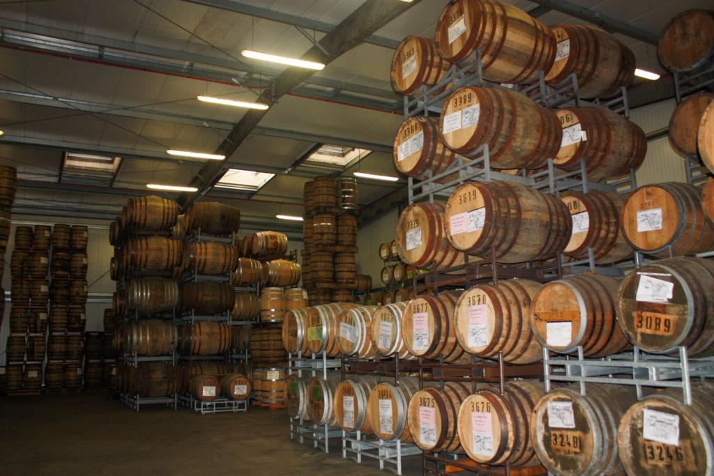 Warenghem Distillery's warehouse