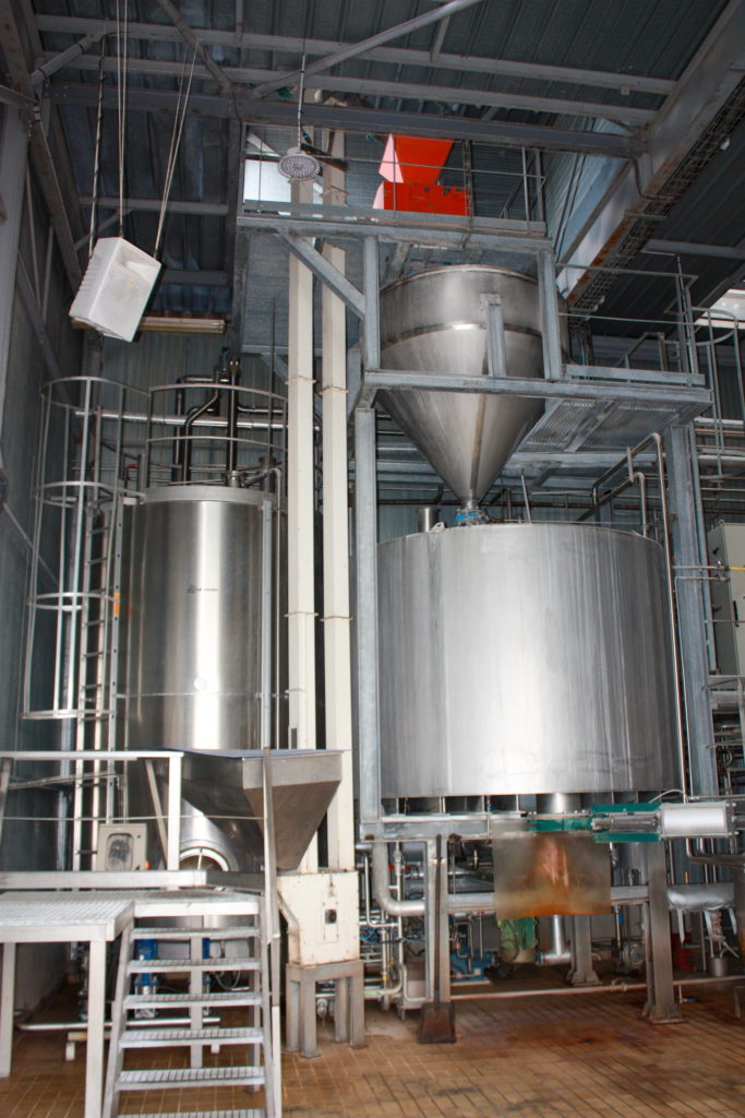 The mill and the mash tun