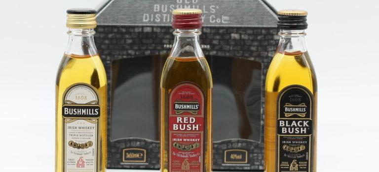 Triple distillation and a triplet of Bushmills
