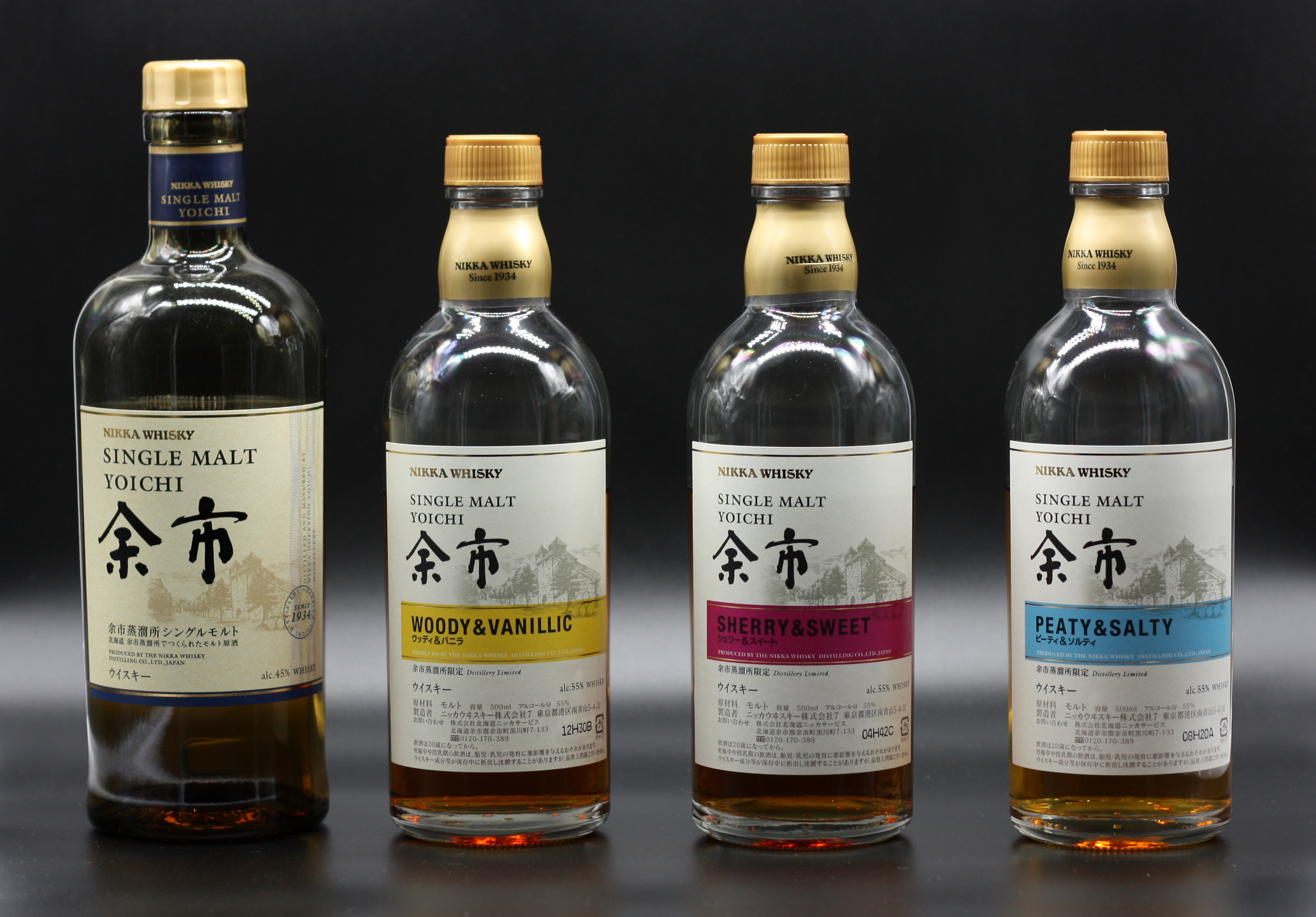 Yoichi NAS blind tasting lineup