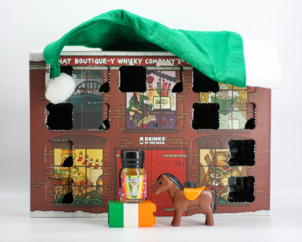 The Irish Single Malt with errr... a horse.