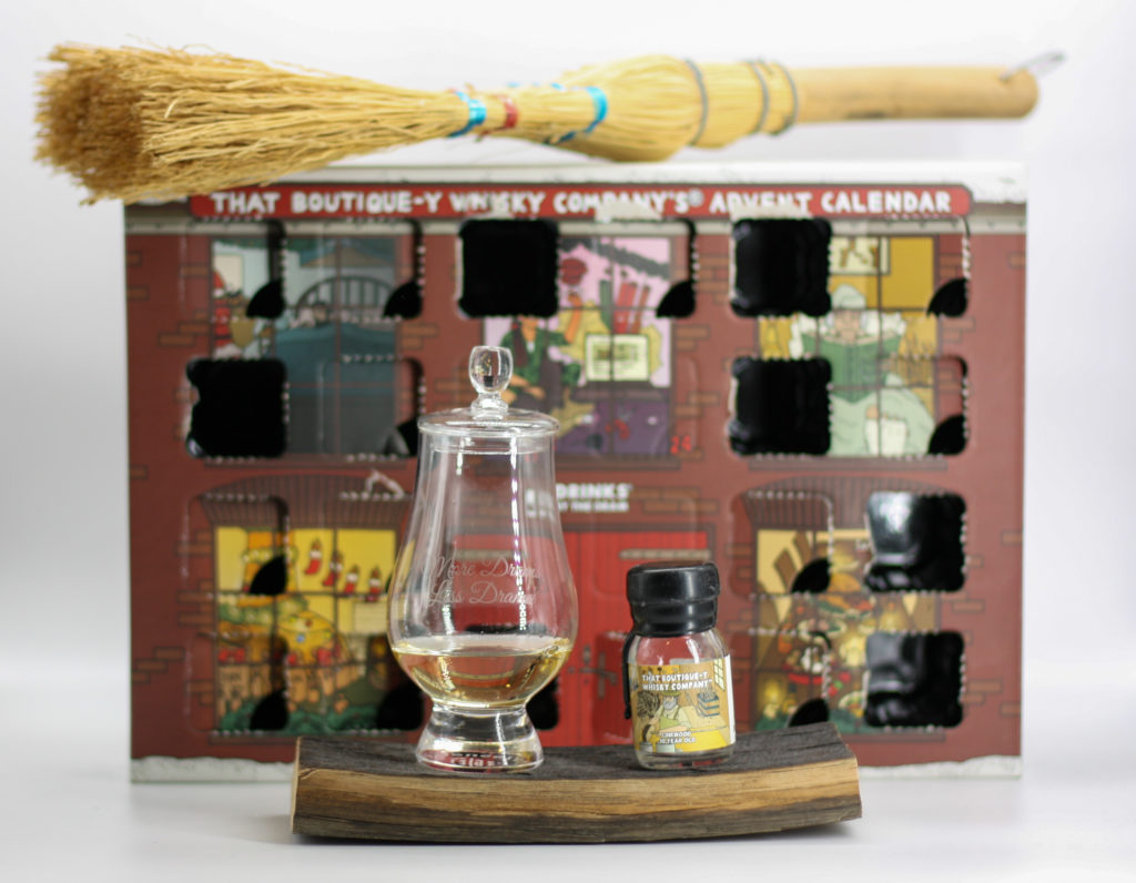 Linkwood in the glass. With a broom.