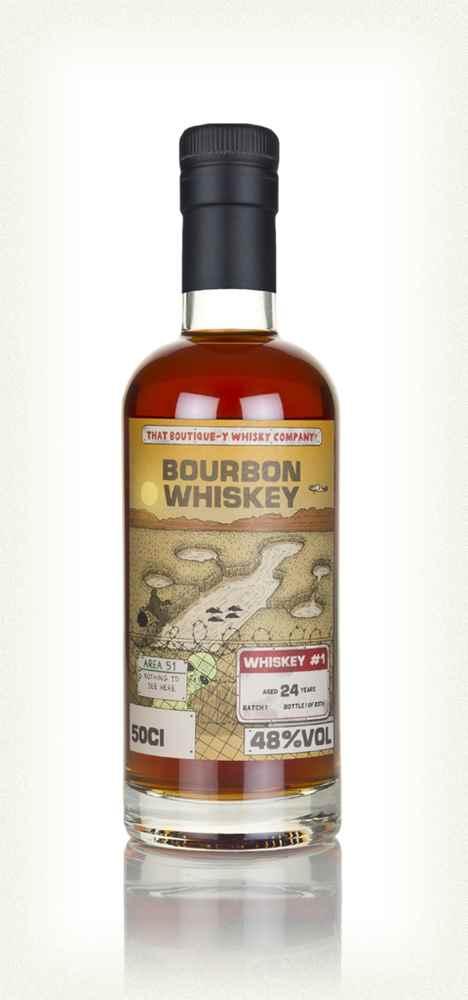 TBWC Bourbon Whiskey #1 24yo batch 1 bottle