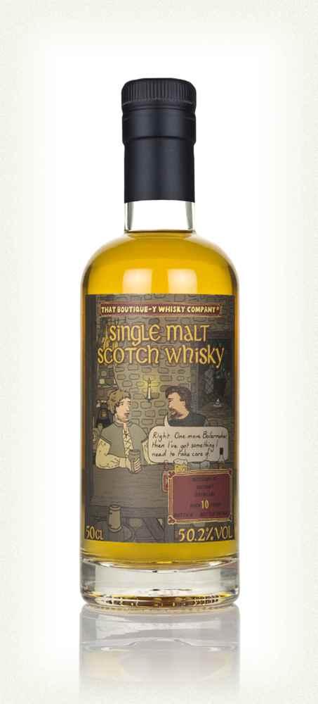 The bottle of Macduff 10yo batch 8 TBWC