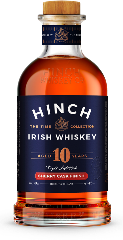 Hinch distillery 10 year-old Sherry Cask Finish