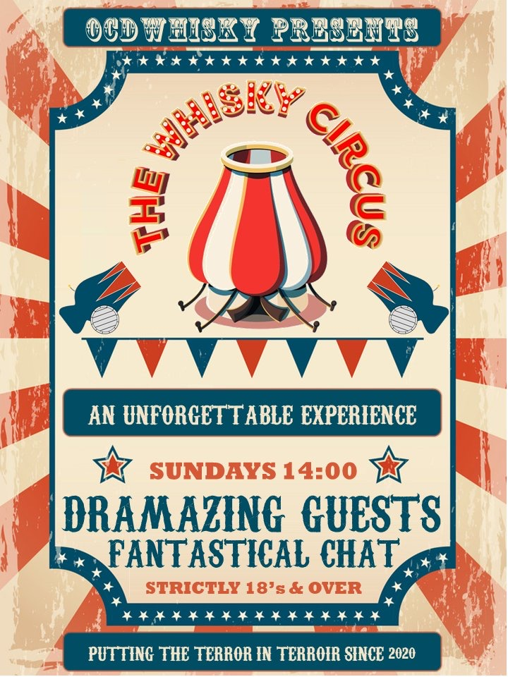 The Whisky Circus banner