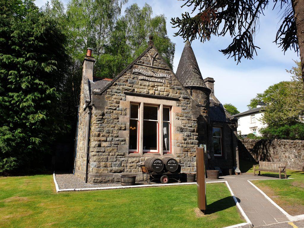 The Aberlour Visitor Centre.
