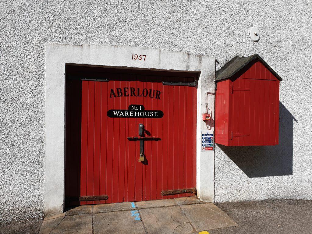 Entrance to Aberlour's Warehouse No. 1