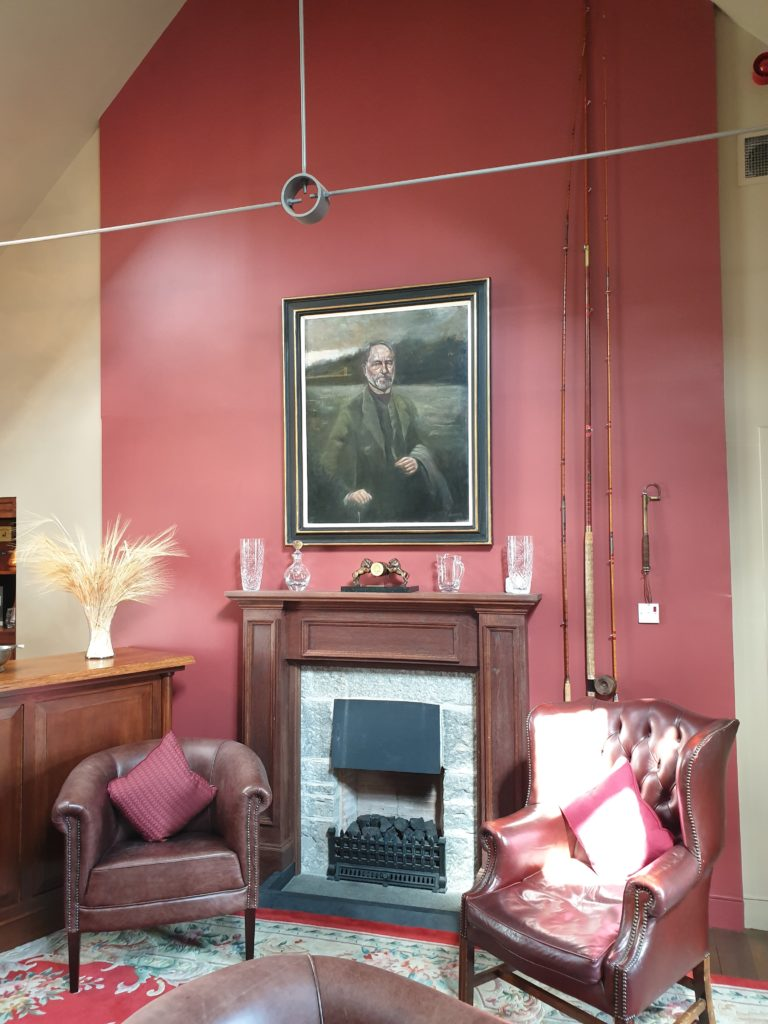 A portrait of James Fleming, founder of Aberlour distillery.