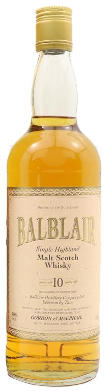 Balblair 10-year-old Gordon&Macphail