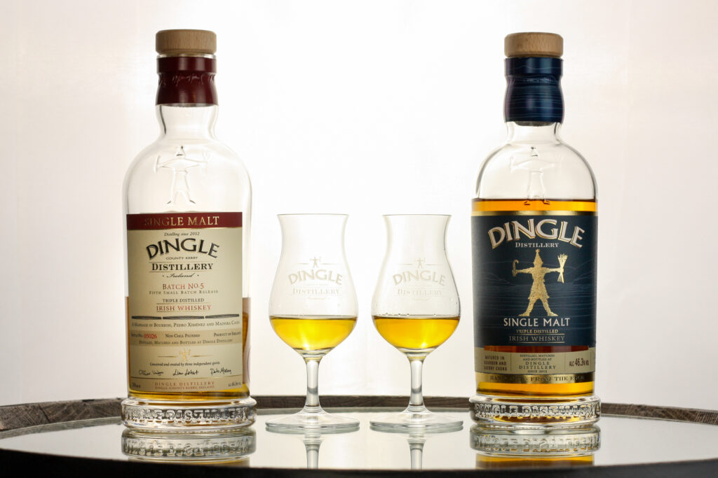 Dingle Single Malt Batch No. 5 and Dingle Single Malt