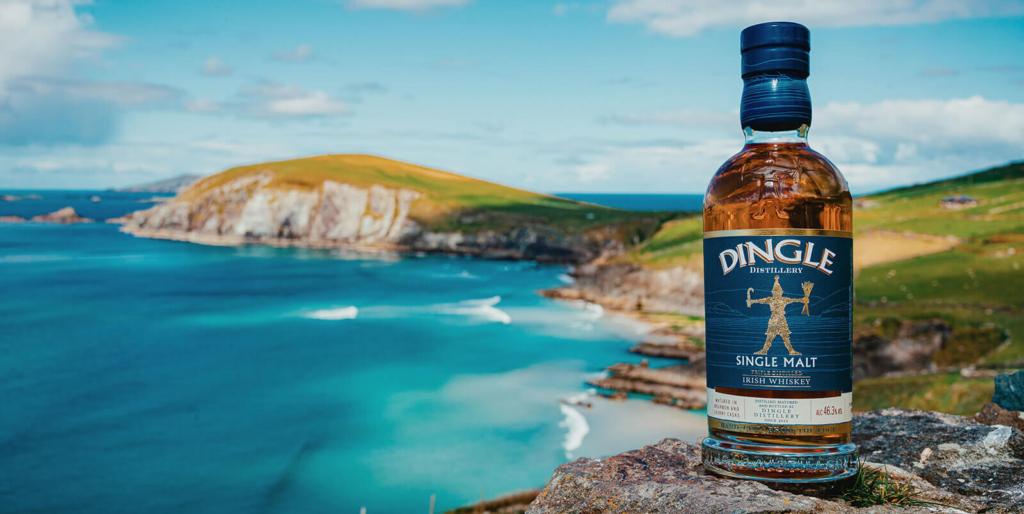 Dingle Single Malt over the bay.